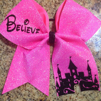 "Cheer Bow- ""Believe"" Summit Worlds Nationals"