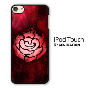 RWBY Ruby Rose Symbol iPod Touch 6 Case