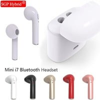 i7s TWS Bluetooth Wireless Headphones 3D stereo earphones headset + charge power bank with microphone for xiaomi samsung huawei