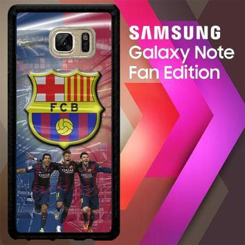 Suarez Neymar & Messi X3140 Samsung Galaxy Note FE Fan Edition Case