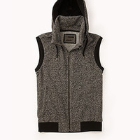 Marled Athletic Vest w/ Hood