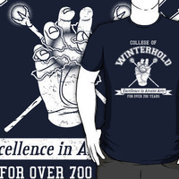 """""""College of Winterhold"""" T-Shirts & Hoodies by Adho1982 