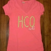 Cute hot pink hollister shirt