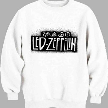 Led Zeppelin brush Sweater for Mens Sweater and Womens Sweater ***