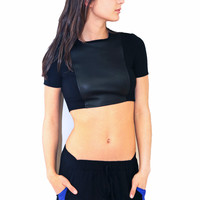 Cher Crop top Short sleeve