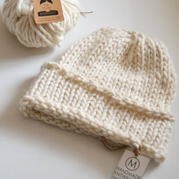 The Classic Beanie - Made By You Knit Kit
