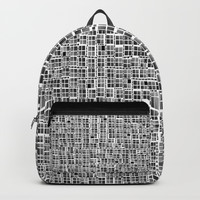 Pixel  Fashion 04 Backpack by Zia