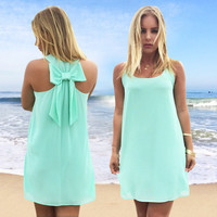 Summer dress 2016 women dress chiffon summer style hot  women clothing