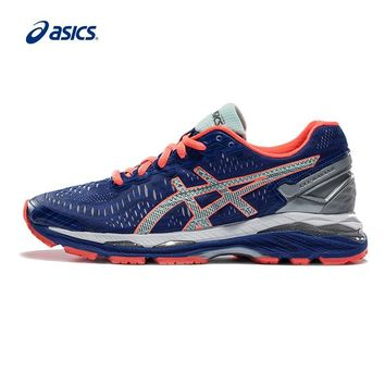 LMFON Original ASICS GEL-KAYANO 23 Night Running Women's Cushion Stability Running Shoes ASICS Sports Shoes Sneakers free shipping