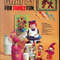 Crafts for Family Fun Vintage Craft Instruction by SomeOtherStuff