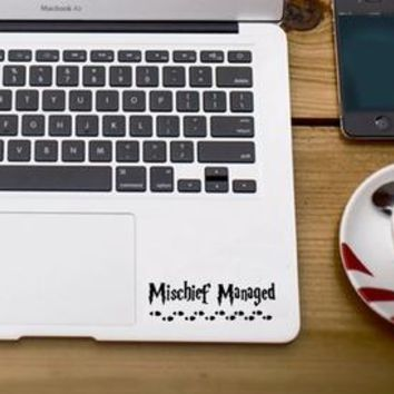 Harry Potter Mischief Managed MacBook / Palm Rest