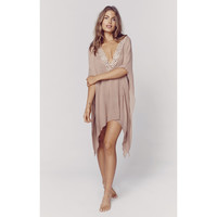 Santorini Caftan in Sandy Brown (FINAL SALE)