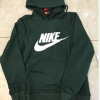 Nike green and yellow hot hoodie sweater top blouse shirt