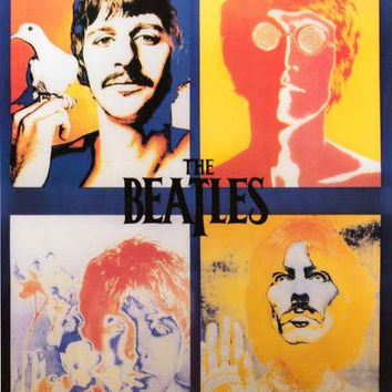 The Beatles Psychedelic Avedon Poster 24x36