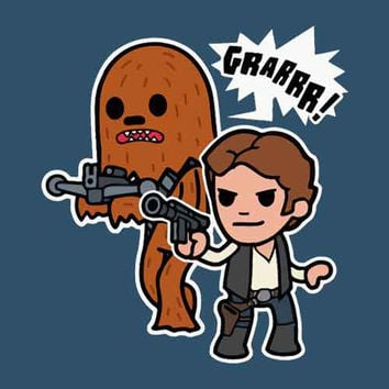 Chewy and Solo Youth Tee Shirt