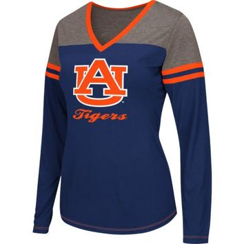 Colosseum Athletics Women's Auburn University Zeta Football T-shirt