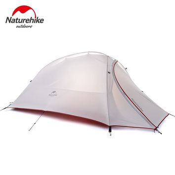 NatureHike 1 Person Teepee Tent Double-Layer Ultralight Folding Tent Waterproof Camping Tents