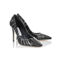 Off-White X Jimmy Choo Anne Pumps - Black Leather Pumps
