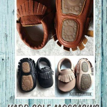 Hard Sole Moccasins*Preorder- 0573*Closes: October 23rd at 8pm*ETA: 8 weeks(INFANT/TOD