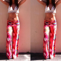 Hot Sale Print Casual Pants [9266595980]
