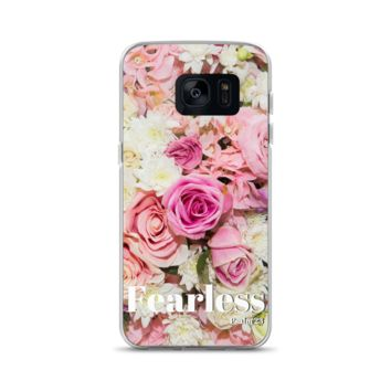 Fearless Psalm 23 Floral Samsung Case