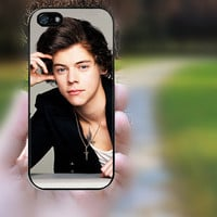 iphone 5c case,iphone 5 case,iphone 5s case,iphone 5s cases,iphone 5 cases,iphone 5c case,cute iphone 5s case--Harry Styles,in plastic.