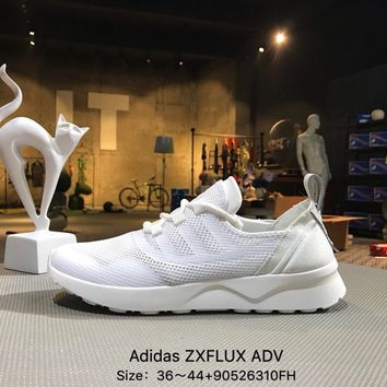 ADIDAS ZX FLUX ADV White Sports Running Shoes Sneaker - BB2298 7167f7c4464a