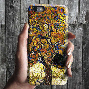 Tree - Van Gogh iPhone Case 6, 6S, 6 Plus, 4S, 5S. Mobile Phone. Art Painting. Gift Idea. Anniversary. Gift for him and her