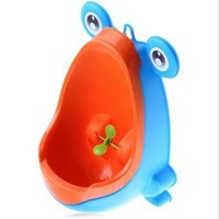 Baby Boy Potty Toilet Training Frog Children Stand Vertical Urinal Boys Toddler Wall-Mounted