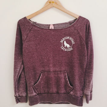Vintage Style Beacon Hill Teen Wolf Crop Long Sleeves