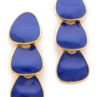 Kenneth Jay Lane Polished Drop Earrings | SHOPBOP