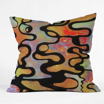 Brian Wall Fine Art Burst Throw Pillow