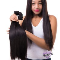 4 Bundles of Malaysian Straight Hair Extensions
