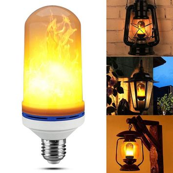 LED Flame Effect Fire Light Bulb - Free + Shipping