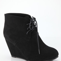 Higher Ground ~ Wedge Bootie