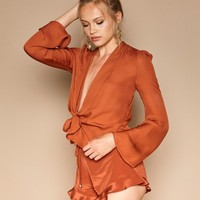 Marina Bloomers - Burnt Sienna | Stone Cold Fox