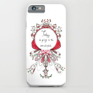 wonderful day iPhone & iPod Case by Youdesignme
