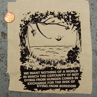 May 1968 patch punk radical anarchist situationist