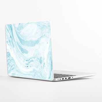 Water Marble Laptop Skin