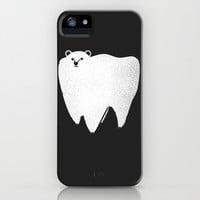Molar Bear iPhone & iPod Case by Zach Terrell