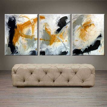 """Day Dreaming  - 48"""" X 20"""" Original Abstract  Art."""