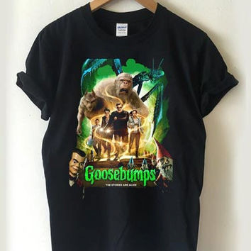 Goosebumps the movie T-shirt Men, Women Youth and Toddler
