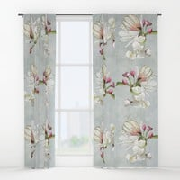 Magic in the air - blossoming Window Curtains by anipani