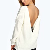 Savannah Deep V Back Jumper
