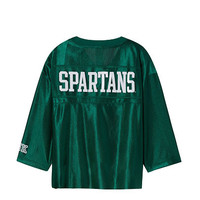 Michigan State University Cropped Jersey - PINK - Victoria's Secret