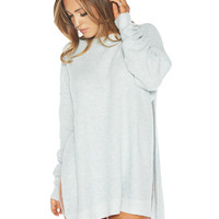 Naked Wardrobe Scoop My Love Up Sweater