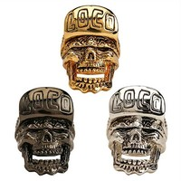 Loco Skull Ring by Han Cholo