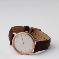 Uniform Wares 152 PVD Rose Gold & Walnut