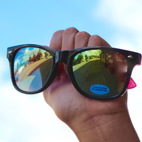 Neon Wayfarer Sunglasses {Multiple Colors}
