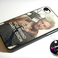 Keep Calm The Walking Dead Daryl Dixon iPhone 4S Case Hard Plastic